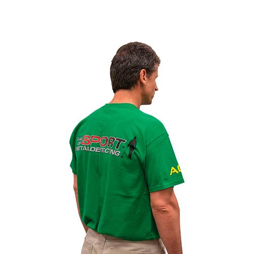 Polo ACE verde - Garrett